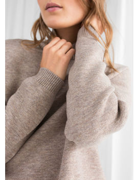 Cropped Turtleneck Sweater by & Other Stories