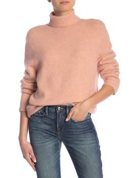 Slouchy Turtleneck Sweater by Frame Denim