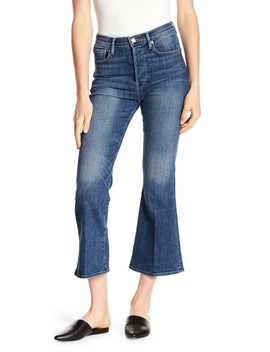 Le Crop Flare Jeans by Frame Denim