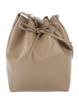 Leather Bucket Bag by Mansur Gavriel