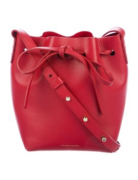 Mini Leather Bucket Bag by Mansur Gavriel