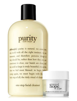 2 Pc. Purity Made Simple & Renewed Hope In A Jar Set by Philosophy