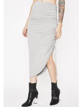 Slay Bae Ruched Skirt by Hyfve