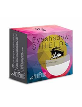 De Prettilicious Eyeshadow Shield 100 Pieces. Free Beauty E Book. Eye Shadow Shields Mascara Eyelash Guard Protector Cosmetic Application by De Prettilicious