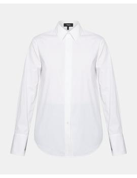 Cotton Essential Button Down by Theory
