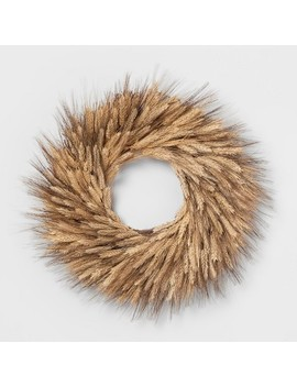 Wreath Dried Wheat   Threshold™   Smith & Hawken™ by Smith & Hawken™