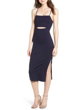 Cutout Midi Dress by Soprano