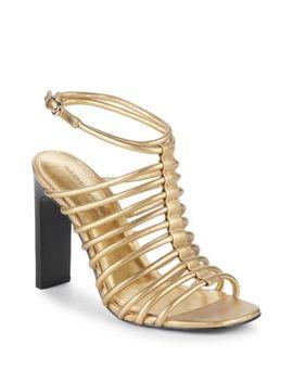 Ilyssa Leather Sandals by Sigerson Morrison