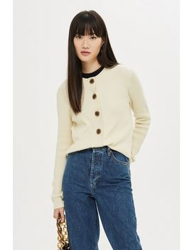 **Button Cardigan By Selected Femme by Topshop