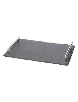 Oenophilia Large Slate Cheese Board With Handles by Bed Bath And Beyond