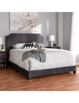House Of Hampton Voigt Upholstered Panel Bed by House Of Hampton