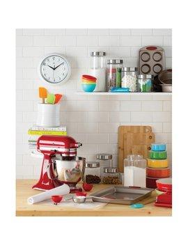 Wayfair Basics™ Wayfair Basics 4 Piece Screw Top Glass Kitchen Canister Set & Reviews by Wayfair Basics™