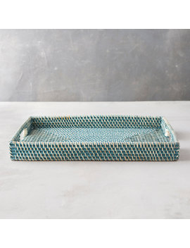 Rattan Serving Tray by Terrain