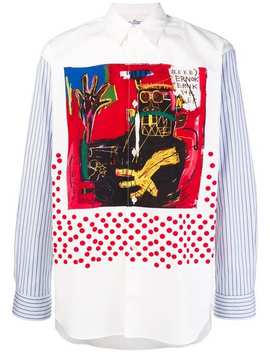Comme Des Garçons Shirt Comme Des Garçons X Jean Michel Basquiat Printed Shirthome Men Comme Des Garçons Shirt Clothing Shirts by Comme Des Garçons Shirt