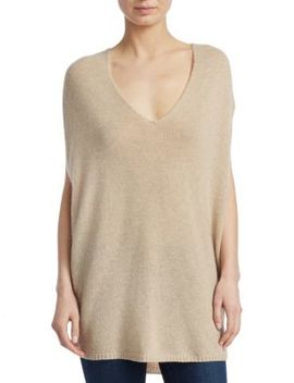 Cashmere V Neck Cape by Theory