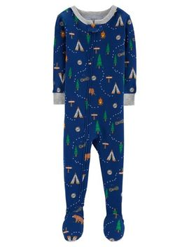 1 Piece Camping Snug Fit Cotton P Js by Carter's