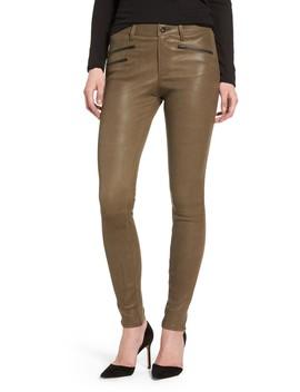The Farrah High Waist Skinny Leather Pants by Ag