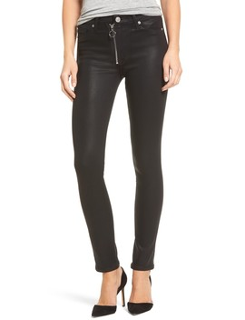 Barbara High Waist Skinny Faux Leather Pants by Hudson Jeans