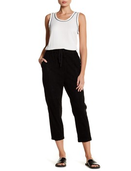 Suede Track Pants by Vince