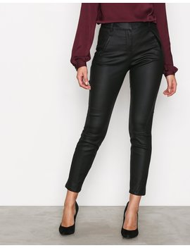 Vmvictoria Nw Antifit Coated Pants by Vero Moda