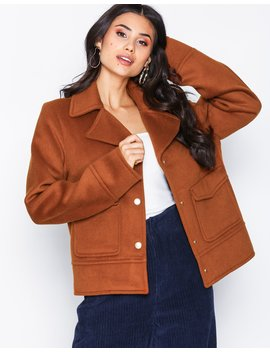 Notched Collar Jacket by Nly Trend