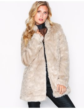 Onl Viva Fur Coat Cc Otw by Only