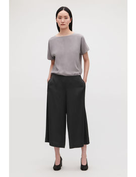 Ribbed Culottes by Cos