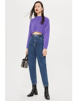 High Rise Ovoid Jeans by Topshop