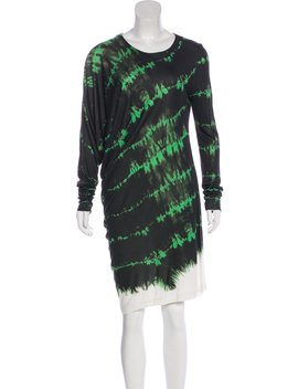 Tie Dye Knee Length Dress by Stella Mc Cartney
