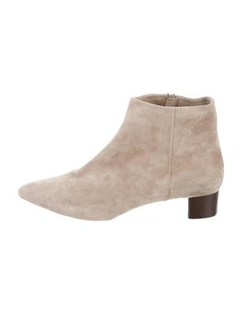 Suede Ankle Boots by Theory