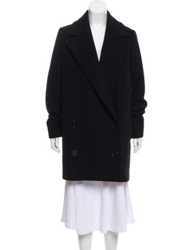 Wool Double Breasted Coat by Stella Mc Cartney
