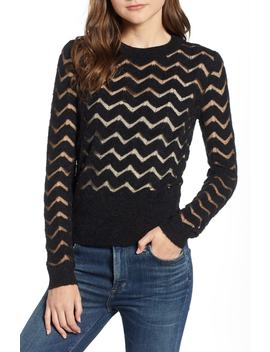 Easy Stripe Pullover by Hinge