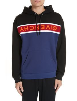 Upside Down Logo Hoodie by Givenchy