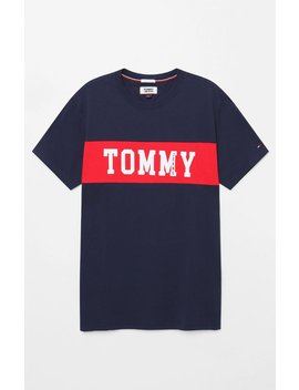 Panel Logo T Shirt by Tommy Jeans