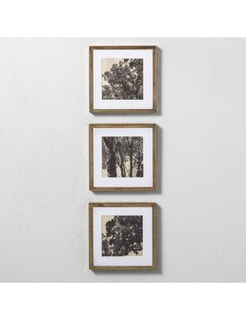 "Framed Wall Poster Print Set Of 3 16""X8""   Hearth & Hand™ With Magnolia by Hearth & Hand™ With Magnolia"