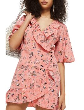 Off Duty Ruffle Tea Dress by Topshop
