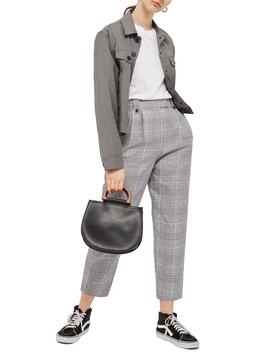 Checked Trousers by Topshop