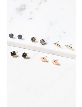 Studded Earring Pack by La Hearts