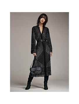 Studded Caftan, Cary Leather Saddle Bag, Avery Boot by Michael Michael Kors