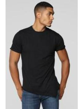 Robby Short Sleeve Tee   Black by Fashion Nova