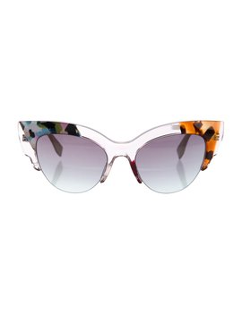 2016 Jungle Cat Eye Sunglasses by Fendi