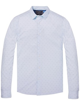 All Over Printed Shirt <Br> Regular Fit by Scotch&Soda