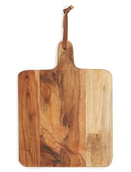 Square Acacia Wood Serving Board by Treasure & Bond