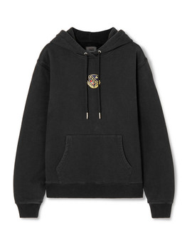 Jane Appliquéd Cotton Jersey Hoodie by Kith