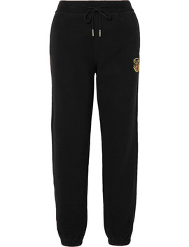 Chelsea Appliquéd Cotton Jersey Track Pants by Kith