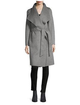 Meghan Wrap Coat by Line