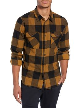 Bowery Buffalo Plaid Flannel Shirt by Brixton