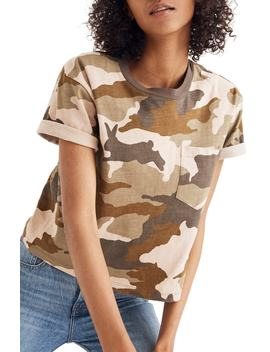 Camo Easy Crop Tee by Madewell