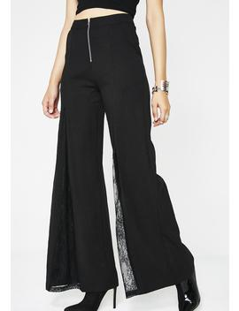 Bish I'm Famous Wide Leg Pants by Rehab