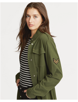 Cotton Military Jacket by Ralph Lauren